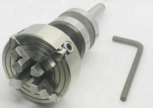 Zollfrei Mitlaufende MK4 Zentrierspitze mit 65mm 4 Backenfutter Sonderausführung
