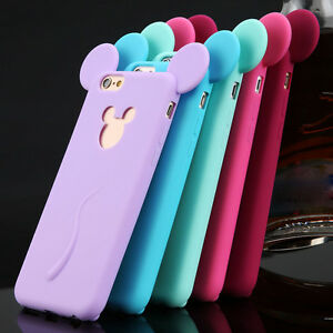 3D-Cute-Cartoon-Soft-Silicone-Phone-Case-Cover-For-Apple-iPhone-4S-5S-6-Plus