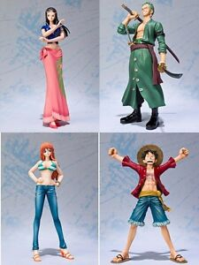 One-Piece-Luffy-Zoro-Robin-Nami-Action-Figure-PVC-Without-Box-16cm