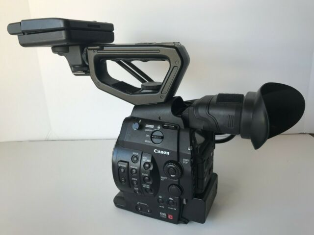 Canon C300 Camcorder EF Mount w/ Pelican Case, Extra Batteries & Charger