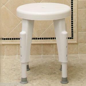 Adjustable Rotating Shower Chair Bath Mobility Chair Grip Tub Small
