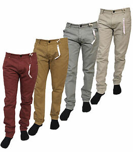 MENS-SLIM-FIT-CHINO-JEANS-EX-CHAIN-CLEARANCE-SALE-ALL-SIZES-RRP-28