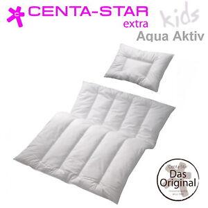 centa star aqua aktiv junior set bettdecke 100x135 40x60 kissen statt 89 95 ebay. Black Bedroom Furniture Sets. Home Design Ideas