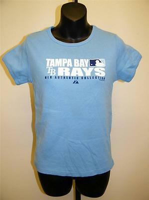 Baseball & Softball RüCksichtsvoll Neu Tampa Bay Rays Damen M Medium Anvil Hellblau Hemd