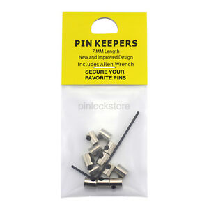 New-Design-7mm-Length-Pin-Keepers-Locking-Pin-Backs-for-Enamel-Lapel-Hat-Pins