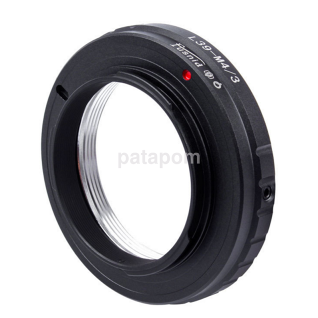 L39 M39 Lens to Micro M 4/3 M43 Adapter Ring for Leica L39-M4/3 E-PM2 EM5 G3 AU