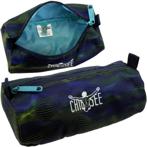 Chiemsee Pens Case Pencil Case Round Pencil Case School Gymnasium New