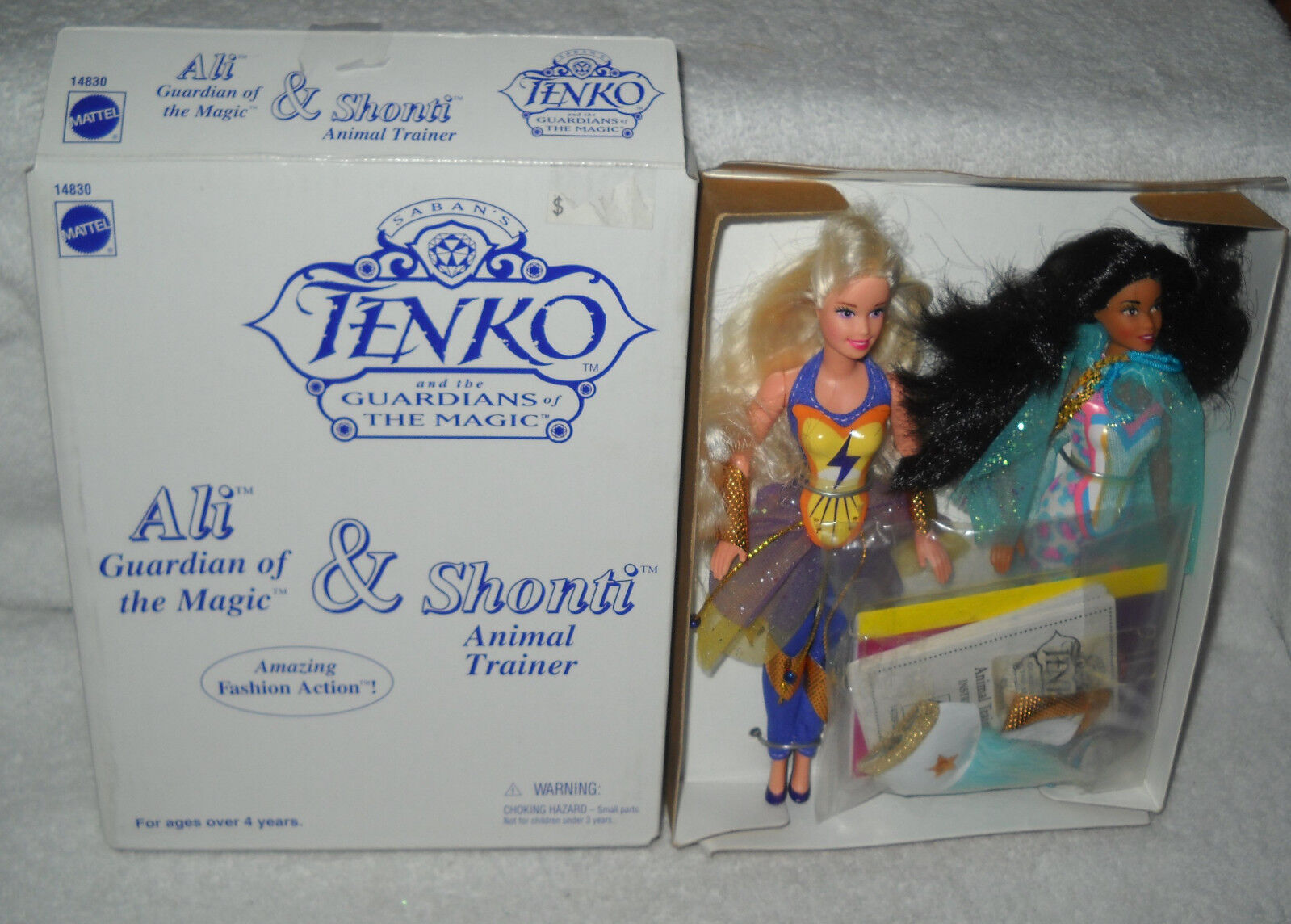 MIB Mattel JC Penney Tenko and the Guardians of Magic Ali & Shonti Set