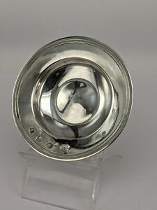 Chester assay office solid silver armada dish with bold hallmarks