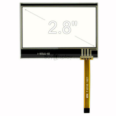 """Factory Outlet 3/"""" inch Resistive Touch Panel Screen with Free FPC Connector"""