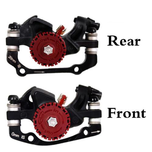 Fit SRAM Mechanical Brakes Disc MTB bike Caliper Front&Rear Give away 6 Bolts US