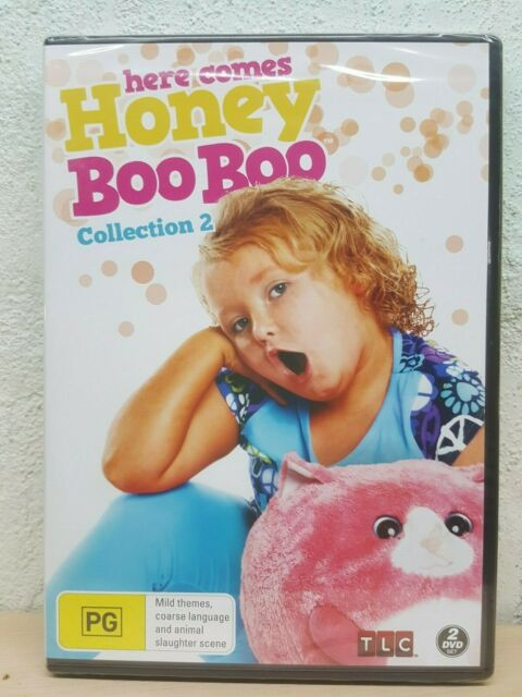 HONEY BOO BOO DVD Collection 2 - 12 Episodes Over 4 Hours - BRAND NEW