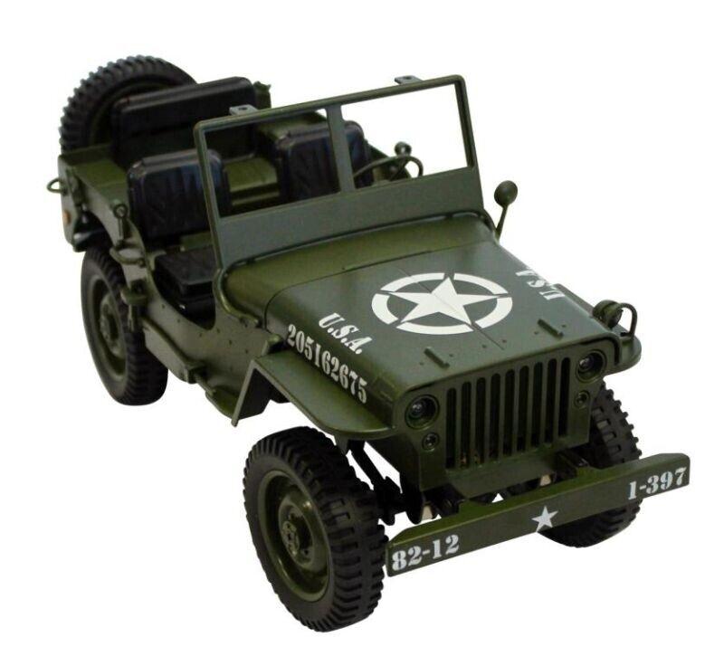 Siva military Coche 4wd 2,4ghz 1 12 verde  50375