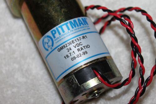 Pittman Gm9236e157-r1 19.7:1 Ratio 24 Vdc Gearhead SERVO GEAR MOTOR New Rare