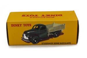 Voiture Camion Modèle Réduit Dinky Toys (atlas) Studebaker Benne Basculante