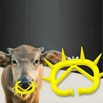 Plastic Weaner Anti Sucking Calf Cow Milking Stops Sucking Durable Large Red