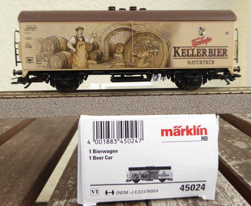 Märklin 45024 Wagon Coolant Beer ibopqs Mönchhof Bräu ZIRNDORFER KELLERBIER