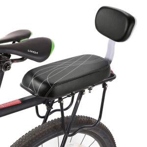 fahrrad r cksitz mit r ckenlehne kissen gep cktr ger. Black Bedroom Furniture Sets. Home Design Ideas