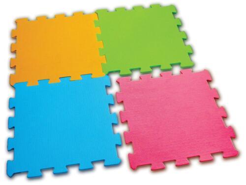 Toddlers Foam Interlocking Mats Colorful Children Outdoor Indoor Play Nursery