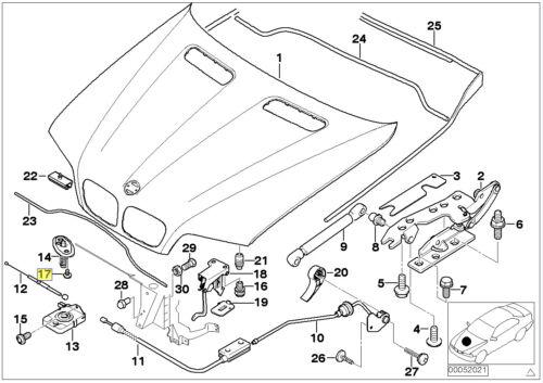 BMW Torx Bolt /& Washer M6x1.00x16 mm Grade 10.9 7203737 51237203737