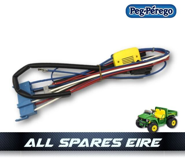peg perego john deere gator hlr wiring / wire harness - p/n meie0500
