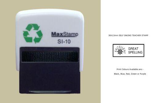 Teacher Rubber Stamps Self ink,School,Education,Reward,merit,achievement etc