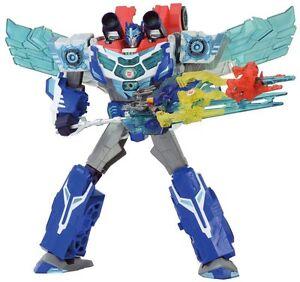 Misb In Usa - Transformateurs Takara Adventure Tav-61 Hyper Surge God Optimus Prime