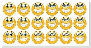 Details Zu 18 Aufkleber Smiley 3cm Dm Sticker Tuning 18 Stück Fun Face Yellow