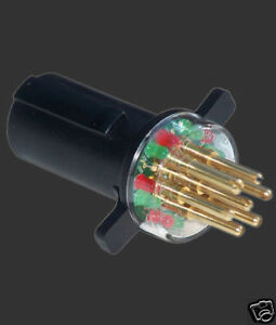 ipa tractor trailer / truck 7 round pin plug circuit ... tractor trailer wiring