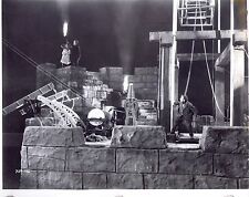 RARE STILL BORIS KARLOFF AS FRANKENSTEIN  ON SET #8