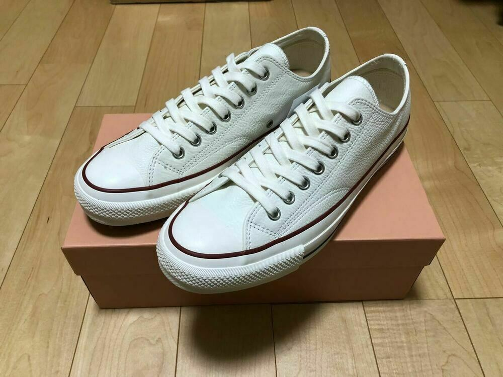 CONVERSE Addict Chuck Taylor White Leather Men's Sneakers size US 9 1 2