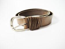 Petrol Industries Mens Leather Belt Brown