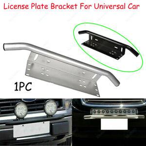 Universal-Bumper-Number-License-Plate-Holder-LED-Work-Light-Bar-Mounting-Bracket