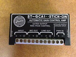 Contemplatif Rdl St-gca1 Contrôle De Gain Automatique Amp Stick-sur Radio Design Labs-afficher Le Titre D'origine La RéPutation D'Abord