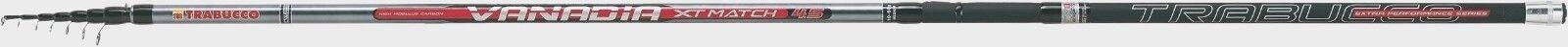 Caña trabucco Telematch Vanadia XT T-Match 4.50mt. 60 Gr.