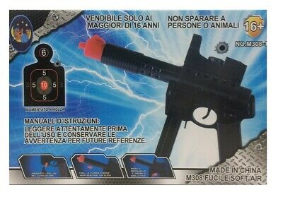 Pistola Giocattolo Spara Pallini 6mm Air Soft Royal Gun Mauser Inspired