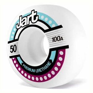 Jart-Skateboards-Tron-Skateboard-Wheels-White-50mm