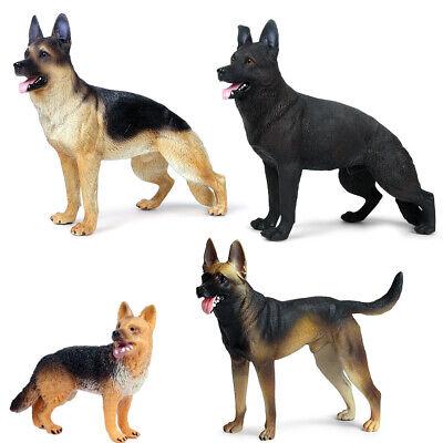 Simulation German   Dog Figures Model Decor Kids Educational Toy