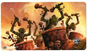 Magic-The-Gathering-Masters-25-v3-Goblin-War-Drums-Play-Mat-ULTRA-PRO