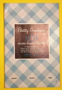 Betty-Crocker-039-s-101-delicious-Bisquick-creations-Vintage