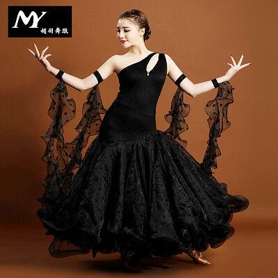 2016 NEW Ladies Modern Waltz Tango Latin Ballroom Competition Dance Dress #MY706