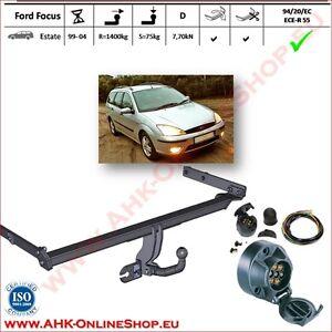 TOP /& E-Satz Ford Focus Kombi DNW Bj 99-04 Anhängerkupplung Anhängevorrichtung