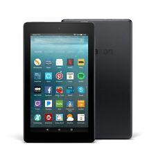 "Amazon Fire 7 Tablet E-Reader with Alexa, 7"" Display, 8 GB – Black"