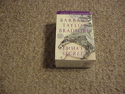 100% Waar Emma's Secret By Barbara Taylor Bradford (2004, 8 Cassettes Unab) New! Free Ship Bright Luster