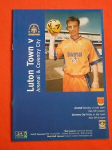 Luton-Town-v-Arsenal-Coventry-City-Friendly-July-1998