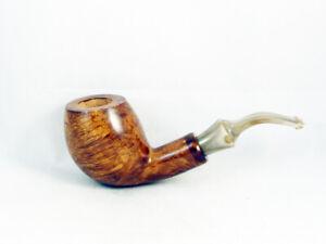 PIPA VOLKAN RADICA Alberto Paronelli liscio Tobacco Pipe 9mm filter pfeife