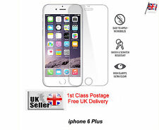 new APPLE IPHONE 6 Plus CLEAR FRONT SCREEN PROTECTOR LCD FILM FOIL GUARD