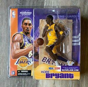 MCFARLANE NBA SERIES 3 KOBE BRYANT LOS ANGELES LAKERS YELLOW ...