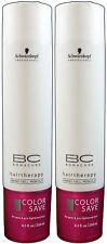 Bonacure Color Save True Silver Shampoo 8.5oz Pack of 2