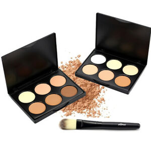 Eyeshadow Palette Smokey Makeup Eye Nude Pennello ombretto cosmetico